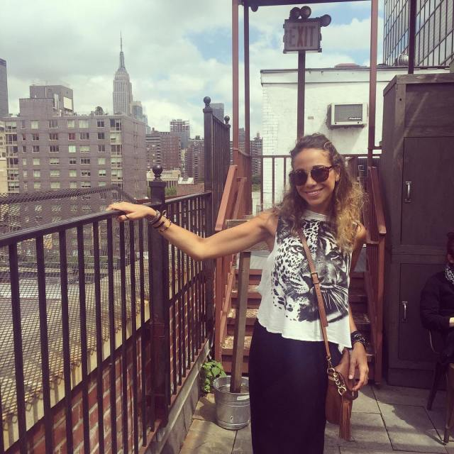 tbt summer brunch at gallowgreen in nyc  someone mimosahellip