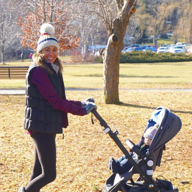 FamilyDay walks with my boys and bugaboostrollers along the Humberhellip