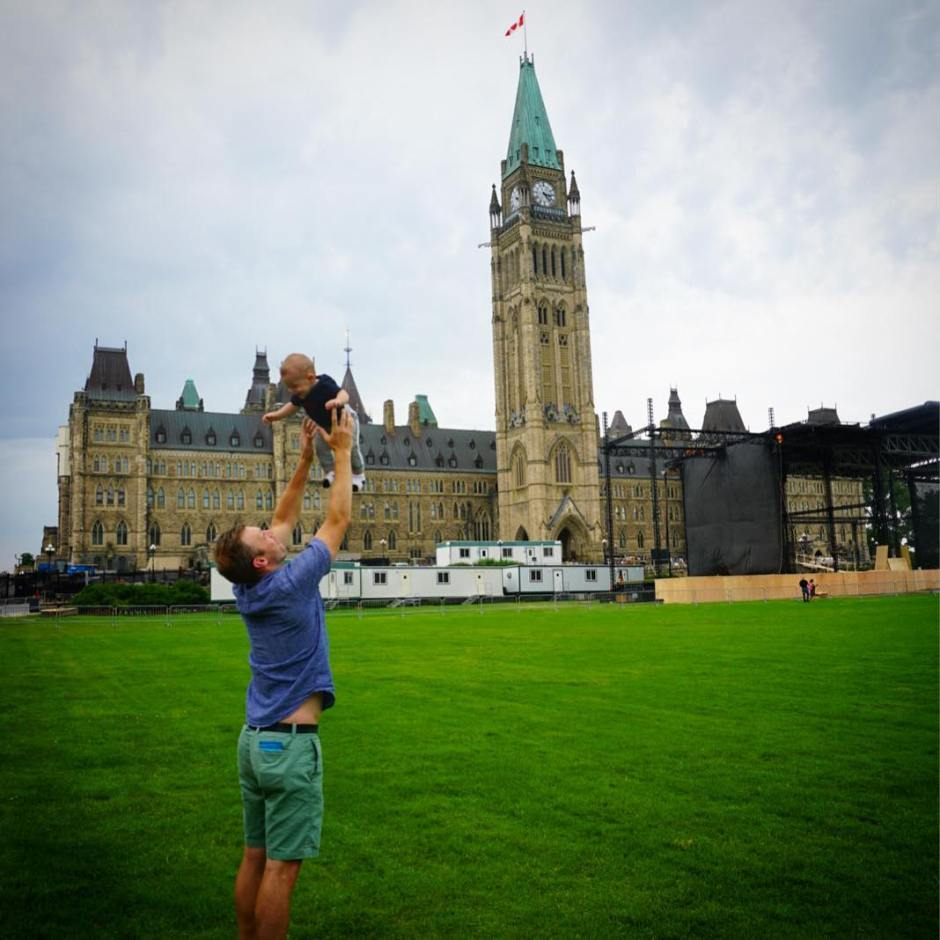 A Family Weekend in Canada's Capital - Mark and Charlie