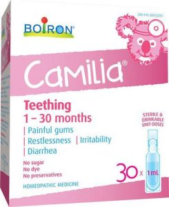 My Top Teething Tips - Camilia