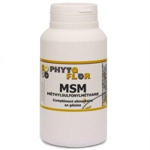 MSM Phytaflor 409 mg – . : 1 boite de 50 gélules