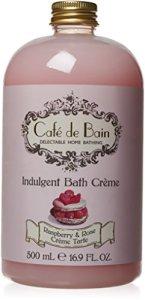 Cafe de Bain Indulgent Bath Creme 500 ml, Raspberry and Rose Tart