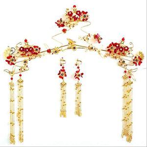 ZCM Coiffure De Mariée , New Tassel Chinese Style Coiffure Accessoires De Mariage