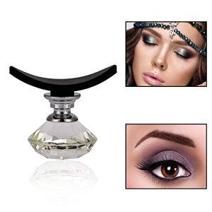 Sonew Modèle de pochoir de fard à paupières en cristal, yeux réutilisables fard à paupières fard à paupières shaper rapide(03#)