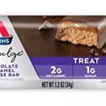 Atkins, Endulge, Barre de mousse au chocolat et caramel, 5 barres, 1,2 oz (34 g) par Barre