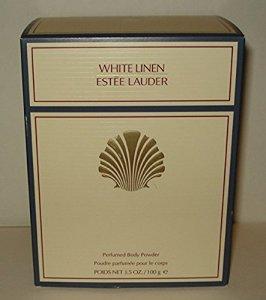 Estee Lauder White Linen Décoration Perfumed Body Powder with Puff–100g/3.4oz by Estee Lauder