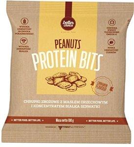 Trec Nutrition Protein Bits Peanut Snack aux Céreales Saveur Cannelle