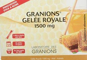 GRANIONS Gelée Royale 15 Sticks à Boire