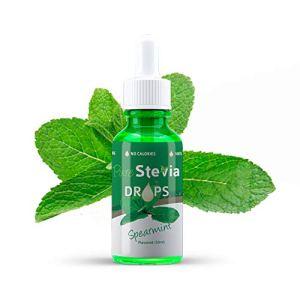 Stevia Gouttes de Pièce de Monnaie 50ml – Édulcorant Liquide – Ingrédients Naturels (Pièce ide Monnae) – PureStevia
