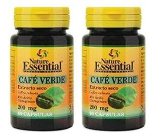 Café vert 200 mg. (sec ext 45%) 60 capsules (Pack 2 u.)
