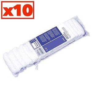 Coton Accordéon 100% Coton Hydrophile Carton De 10 Sachets De 500 Grammes – Cot-500-10 – By Antigua Health Care