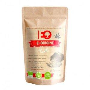 E-ORIGINE – Protéine de chanvre Vanille certifié BIO – 1kg