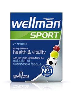 Vitabiotics   Wellman Sport Tablets   12 X 30S