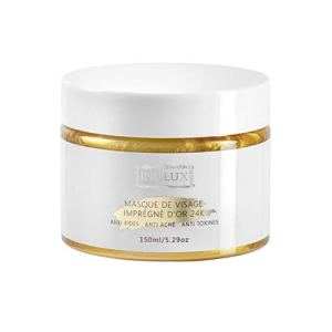 Masque Visage à l'Or 24K Anti-âge Anti-acné Anti-toxines INOLUX | PEEL-OFF | 150ML | Traitement Revitalisant Intense d'Exception.