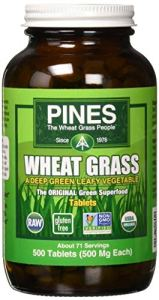Pines International Wheat Grass 500 Mg (1×500 Tablets)