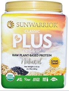 SUNWARRIOR – Protéines végétales Classic PLUS Nature – 500g
