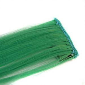 Belle Coloré 1 PCS Synthétique Extensions de Cheveux Femmes Coiffure Longue Droite Clip Sur Des Pièces De Cheveux Simple Clip