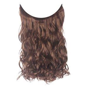 HLIYY Pince éPaisse à La Mode dans Les Extensions De Cheveux Clipser dans Les Extensions Postiche RéSistant à La Chaleur Lisse MéLange Blond Qualité Perruque Cosplay