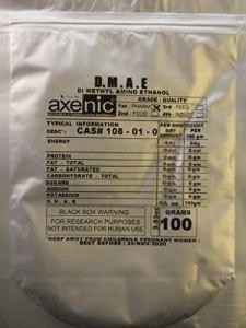100 Grams DMAE, Dimethyl Amino Ethanol,D.M.A.E Bitatrate, Dimethylethanolamine powder