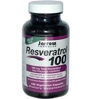 Jarrow Formulas, Resvératrol 100, 120 Capsules Végétales