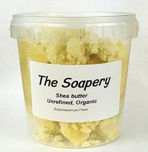 Beurre de karité 500g – Biologique, non raffiné, pur et naturel – pur à 100%