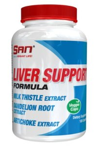 San Liver Support Formula Extraits de Foie