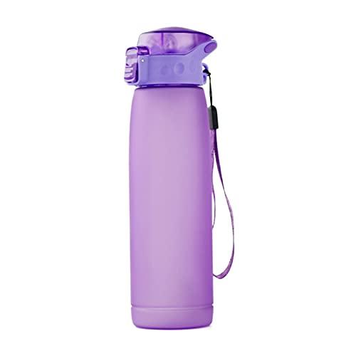 Étudiant créatif gobelet en Plastique gobelet de publicité Tasse de Bouteille de Sport de Plein air Fuite de la Bouteille pour Vous Assurer de Boire Assez d'eau Tous Purple
