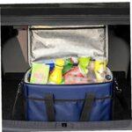 Sac isolé Pique-nique Sac à refroidisseur isolé Portable Pique-nique thermique Pique-nique Boîte de rangement Camping Food conteneur 10L