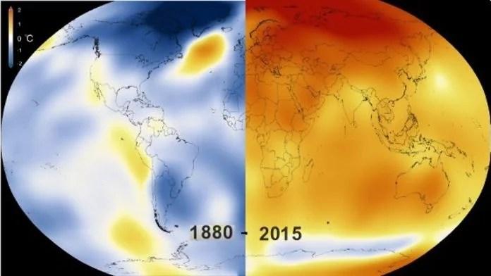 réchauffement climatique 2016