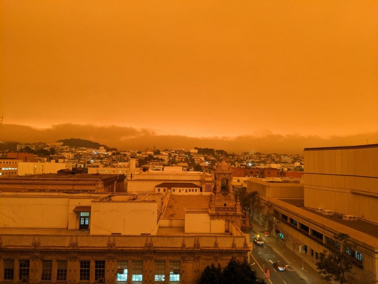incendies californie blade runner