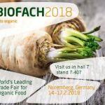 Biofach 2018 banner