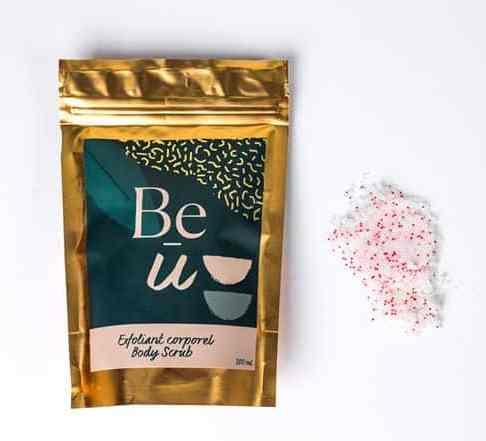 Exfoliant pour le corps Be-U cosmétiques