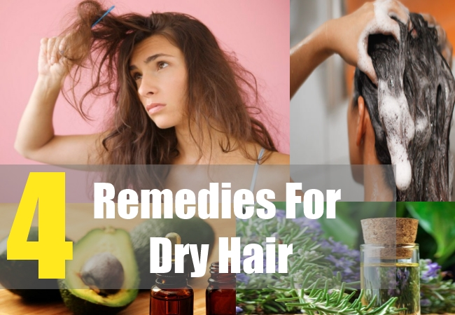 4 Remedies For Dry Hair