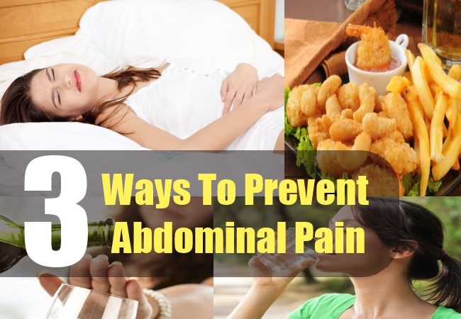 3 Ways To Prevent Abdominal Pain