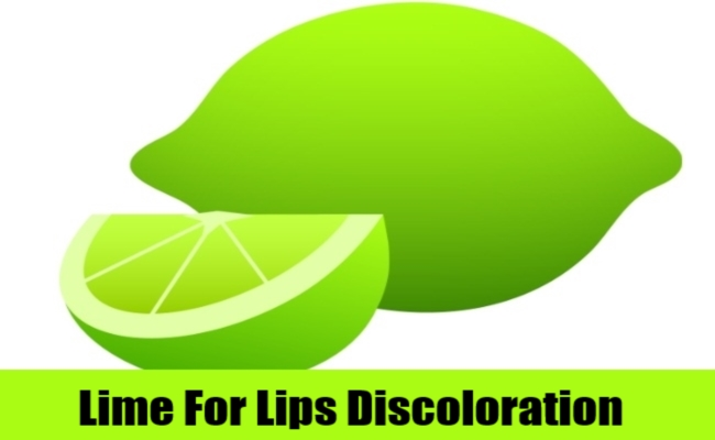 Lime For Lips Discoloration
