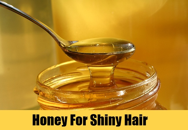 Honey For Shiny Hair