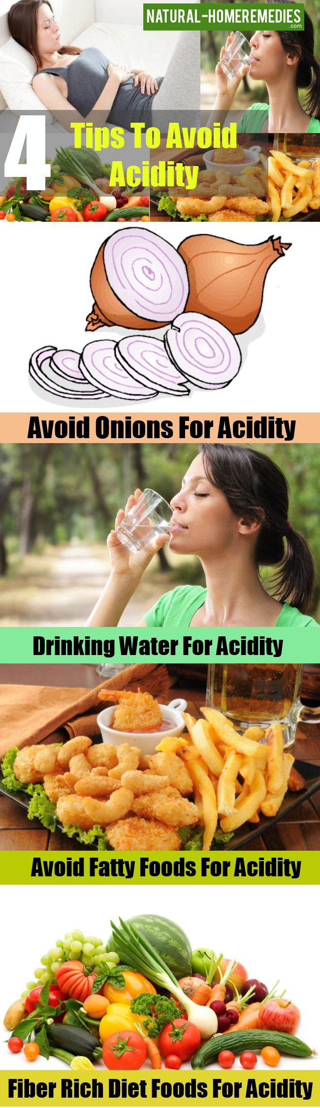 Tips To Avoid Acidity