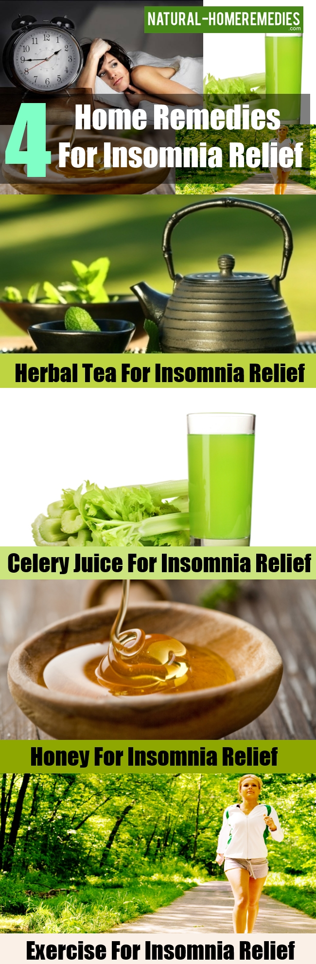 Home Remedies For Insomnia Relief
