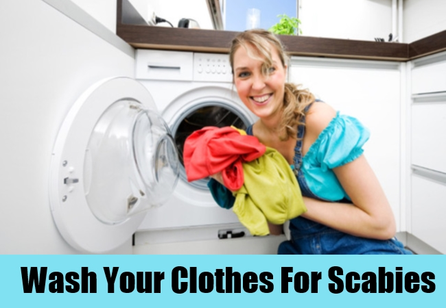 Wash Your Clothes For Scabies