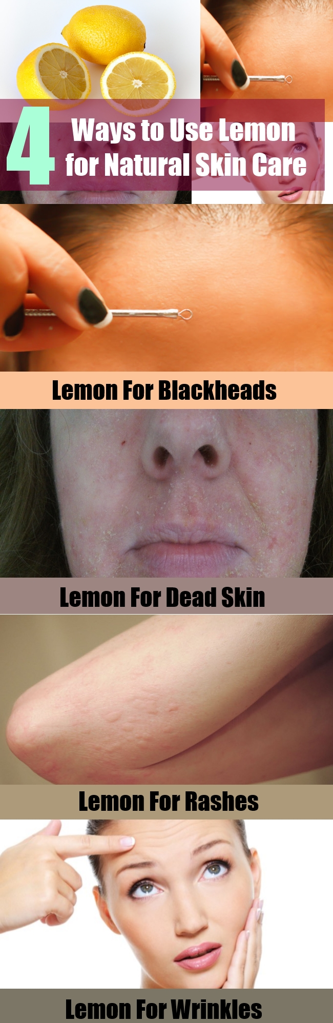 Ways to Use Lemon for Natural Skin Care