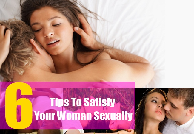 Tips on how to satisfy a man sexually
