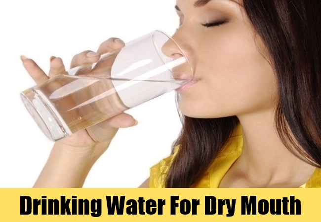 Drinking Water For Dry Mouth