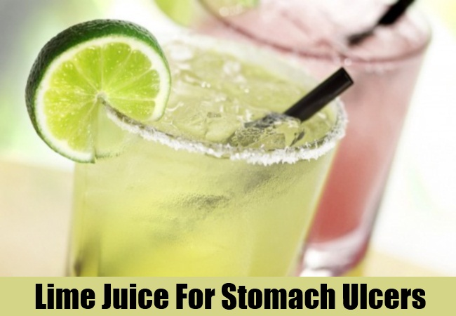 Lime Juice For Stomach Ulcers