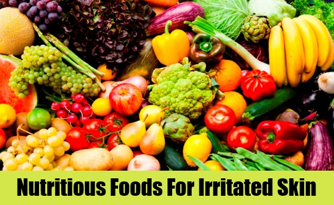 Nutritious Foods For Irritated Skin