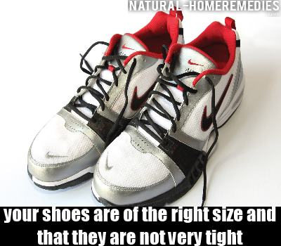 right shoe size