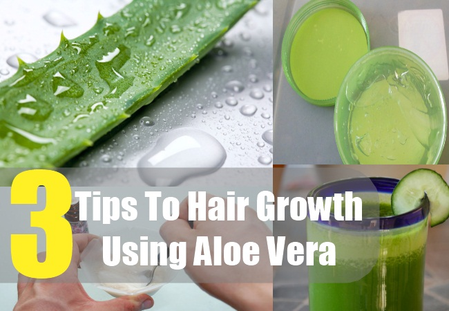 3 Tips To Promote Hair Growth Using Aloe Vera