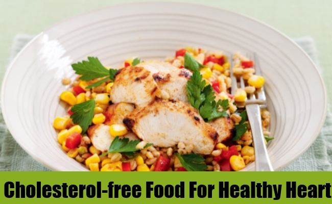 Cholesterol-free Food For Healthy Heart