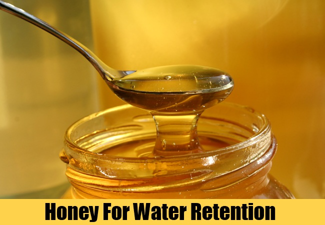 Honey For Water Retention
