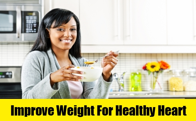 Improve Weight For Healthy Heart