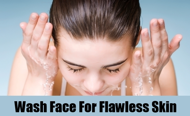Wash Face For Flawless Skin